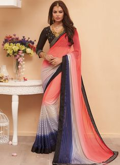http://www.sareesaga.in/index.php?route=product/product&product_id=26667 Style	:	Designer Saree Shipping Time	:	10 to 12 Days Occasion	:	Party Festival Fabric	:	Satin Georgette Colour	:	Multi Colour Work	:	Patch Border Work For Inquiry Or Any Query Related To Product, Contact :- +91-9825192886, +91-7405449283
