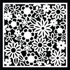 Flower Background by request - Free Cut Files |
