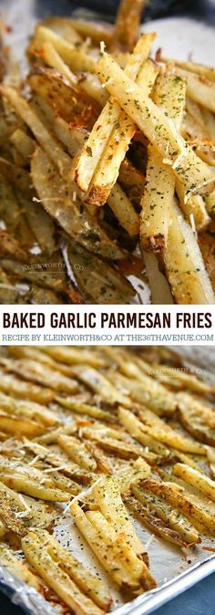 Parmesan Baked Steak Fries Baked Garlic Parmesan Steak Fries - Easy and delicious side dish to all your summer BBQ dishes.Baked Garlic Parmesan Steak Fries - Easy and delicious side dish to all your summer BBQ dishes. Side Recipes, Veggie Recipes, Cooking Recipes, Easy Cooking, Lunch Recipes, Summer Recipes, Pasta Recipes, Beef Recipes, Cooking Tips