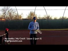 Kids Tennis Lesson (live) - part 5 - how to teach tennis to little kids (age 4 - 10) - see full lesson at WebTennis24.com