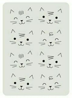 Drawing Tips Cats Cat Doodle, Doodle Drawings, Doodle Art, Easy Drawings, Pencil Drawings, Cat Drawing, Drawing Tips, Cat Crafts, Crafts For Kids