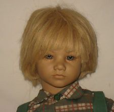 "1986 Annette Himstedt 26"" Vinyl & Cloth Barefoot Children Bastian Doll   MJ22"