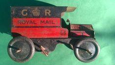Earliest Wells Of London clockwork Royal Mail GR (George V) van car 1918 bing Red Color Schemes, Van Car, Wells, Royal Mail, London, Toys, Activity Toys, Clearance Toys, Gaming