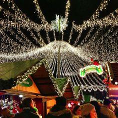 German Christmas market! Photo by @DJ Yabis on Instagram.