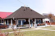 A house from Bucovina Wendy House, European House, Good House, Traditional House, Gazebo, Buildings, Houses, Outdoor Structures, Rustic