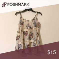 Mimi Chica Cold-shoulder Floral Blouse Long, 'bell-bottom' sleeves with cut-out detail running along the shirt. Sheer and flowy; perfect beach cover-up or summer top. Mimi Chica Tops Blouses