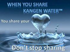 I love sharing Kangen Water. 704-564-4017