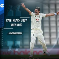 James Anderson feels he can go on to get 700 wickets in Test cricket. Will he?