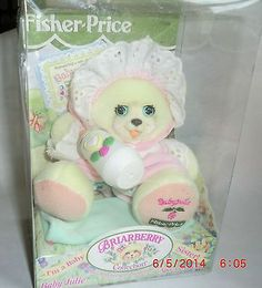 New 1999 Fisher Price Briarberry Collection Baby Julie Teddy Bear Baby Sister | eBay