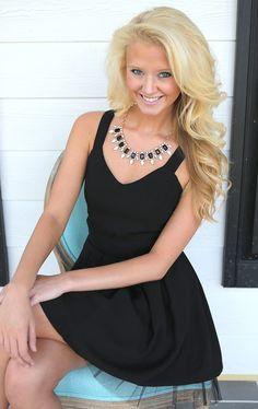 Cover Girl Dress-Black - Dresses