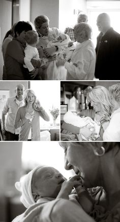 Love the family's reaction! Birth photography #Photography