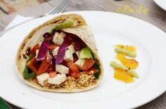 Sesame Seed & Tofu Wrap! You'd never believe it was animal cruelty free, and full of nutrients, you'll love it! Recipe: http://www.livelifenutrition.net/sesame-seed-tofu-wrap/