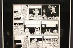 Record mondial pour une planche de Tintin vendue aux enchères