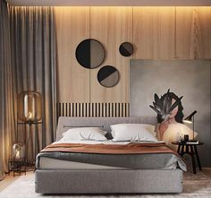Gorgeous Contemporary Bedroom Design Ideas - Usually, the sanctuary of our home is the bedroom. A bedroom is a place where we lay to rest and relax, a place where we can be serene and chilled out. Luxury Bedroom Furniture, Luxury Bedroom Design, Bedroom Bed Design, Luxury Interior Design, Home Bedroom, Furniture Design, Bedroom Decor, Furniture Makers, Bedroom Lighting