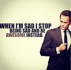 Barney knows what's good