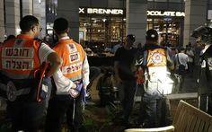 Videos muestran horror vivido en atentado en Tel Aviv