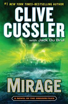 "New the week of 11-05-13: ""Mirage"" by Clive Cussler"