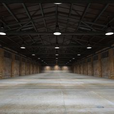 3d old warehouse model - Old Warehouse Interior... by MS_RAY