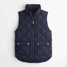 Petite excursion quilted down vest : outerwear & blazers | J.Crew