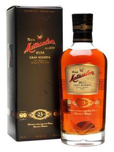 Matusalem 23 Gran Reserva Rum : The Whisky Exchange