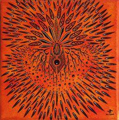 Titre de l'œuvre : Créa.  œuvre réalisée à la peinture acrylique et au Posca (style de peinture acrylique) sur châssis en bois entoilé en coton (œuvre vernie à la bombe aérosol brillante).  Format de l'œuvre : 20 cm x 20 cm x 1.5 cm. Diagonale : 28.2 cm.  Poids précis de l'œuvre : 71,2 g  Date de réalisation : 10/2015  Prix : 90 Euros. #Créa #art #abstrait #tableau #moderne #toile #contemporaine #acrylique #posca #design