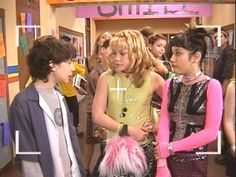 I always liked Miranda's fashion style in Lizzie McGuire.  She was kind of punk