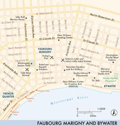 Magazine Street New Orleans Map.75 Best New Orleans Images New Orleans Travel Crescent City