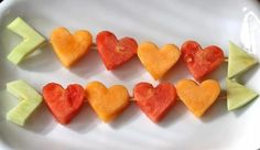 Cute healthy Valentine idea