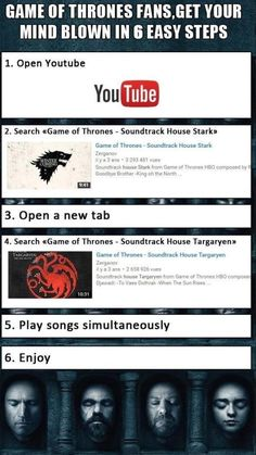 Game Of Thrones Fans - Get Your Minds Blown In 6 Easy Steps