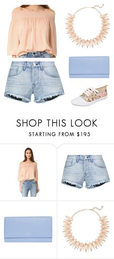 """""""State Fair"""" by camry-brynn ❤ liked on Polyvore featuring Theory, 3x1, Smythson, Kendra Scott and Zimmermann"""