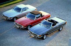 Mercedes-Benz Baureihen: Die 107er (1971 bis 1989): Mit acht Zylindern zum Erfolg - Fotostrecke - Mercedes-Fans - Das Magazin für Mercedes-Benz-Enthusiasten