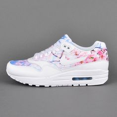 Nike Air Max 1 Print WMNS, white / university blue