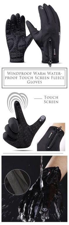 Men&Women Outdoor Gloves: Touch Screen/ Windproof /Cycling