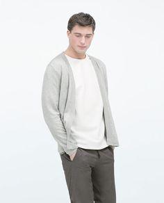 Open cotton jacket