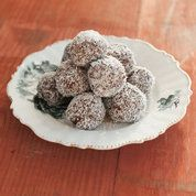 Chocolate dates, almonds and coconut: Recipes: Food