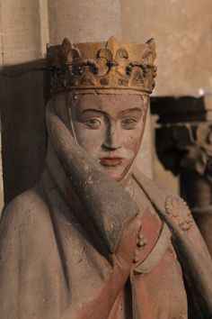 Uta von Naumburg, statue in the west choir, Naumbourg Catehdral, Germany ca. 1249-1255
