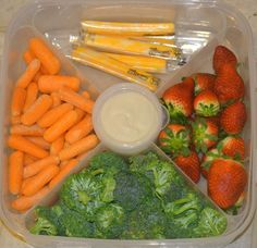 Healthy Snack Station