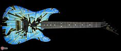 Charvel Custom Shop San Dimas Electric Guitar Shattered Glass Shattered Glass > Guitars : Electric Solid Body - The Music Zoo