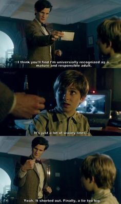 Love him. (From Doctor Who and the Tardis by Craig Hurle)