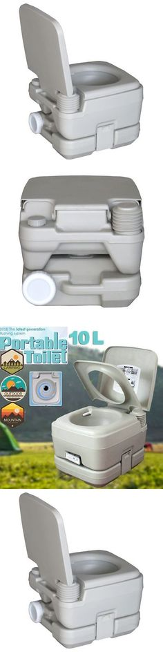 Portable Toilets and Accessories 181397: Portable Camping Toilet Potty Outdoor Travel Commode Flush Seat Tent Rv Camper -> BUY IT NOW ONLY: $48.01 on eBay!
