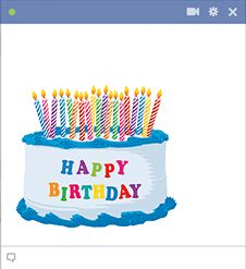 Its A Facebook Pals Birthday As Soon You Receive Notification Visit Our Gallery So Can Send Them Cheerful Emoticon