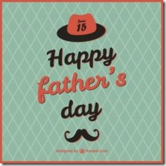 Fathers Day Card Template Free Fresh Retro Father S Day Card Template Vector Father's Day Card Template, Booklet Template, Templates, Fathers Day Cards, Happy Fathers Day, Statement Template, Custom Greeting Cards, Printable Cards, Bridal Shower Invitations