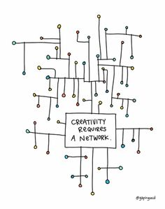 Creativity Requires A Network