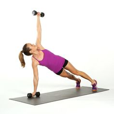 Standing Weighted Twist | Best Ab Exercises Using Weights | POPSUGAR Fitness Photo 3