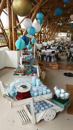 Shark, Birthday Ideas, David, Table Decorations, Furniture, Home Decor, First Holy Communion, Decoration Home, Room Decor