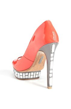 I love the jewels on the heel and platform!