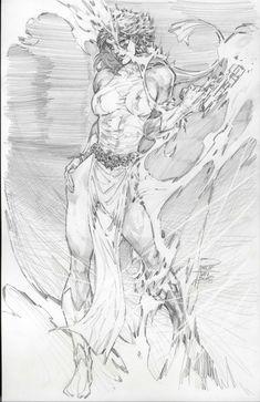 Mystique by Phillip Tan Comic Art