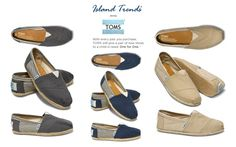 Add some stripes with TOMS University Classic shoe at Island Trends: http://www.islandtrends.com/toms-womens-shoes-1926 #TOMS #shoes #islandtrends
