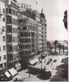 El principio de la Rambla en 1965   Foto de F Sanchez