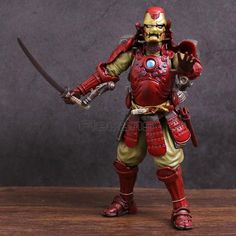 Bandai Meisho Marvel Movie Realization Samurai Iron Man Action Figure China Ver.